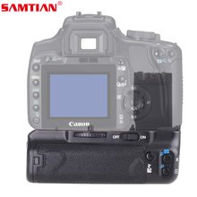 SAMTIAN Skilled Battery Grip Holder Work with NB-2LH Battery or 6 Items AA Batteries for Canon 400D 350D Insurgent
