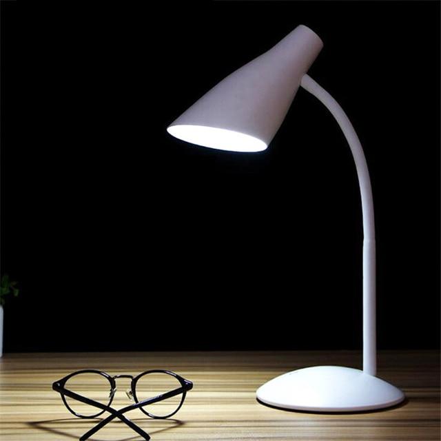 Black White Led Touch Switch Desk Lamp Children Eye Protection