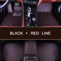 3D Car Floor Mats For Toyota Land Cruiser 100 200 Waterproof Leather Floor Mats Car styling Interior Car Carpet Mat