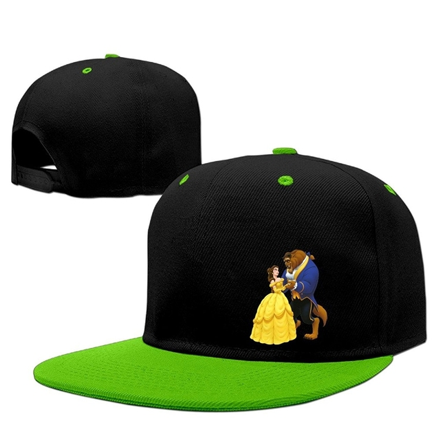 P Jack Cool Beauty And The Beast Hat Cup KellyGreen-in Baseball Caps ... 0301071c5ba