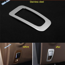 Lapetus Car Styling Electrical Handbrake Brake Parking Cover Trim Fit For Mercedes Benz E-Class E CLASS W213 2016 2017 2018 2019