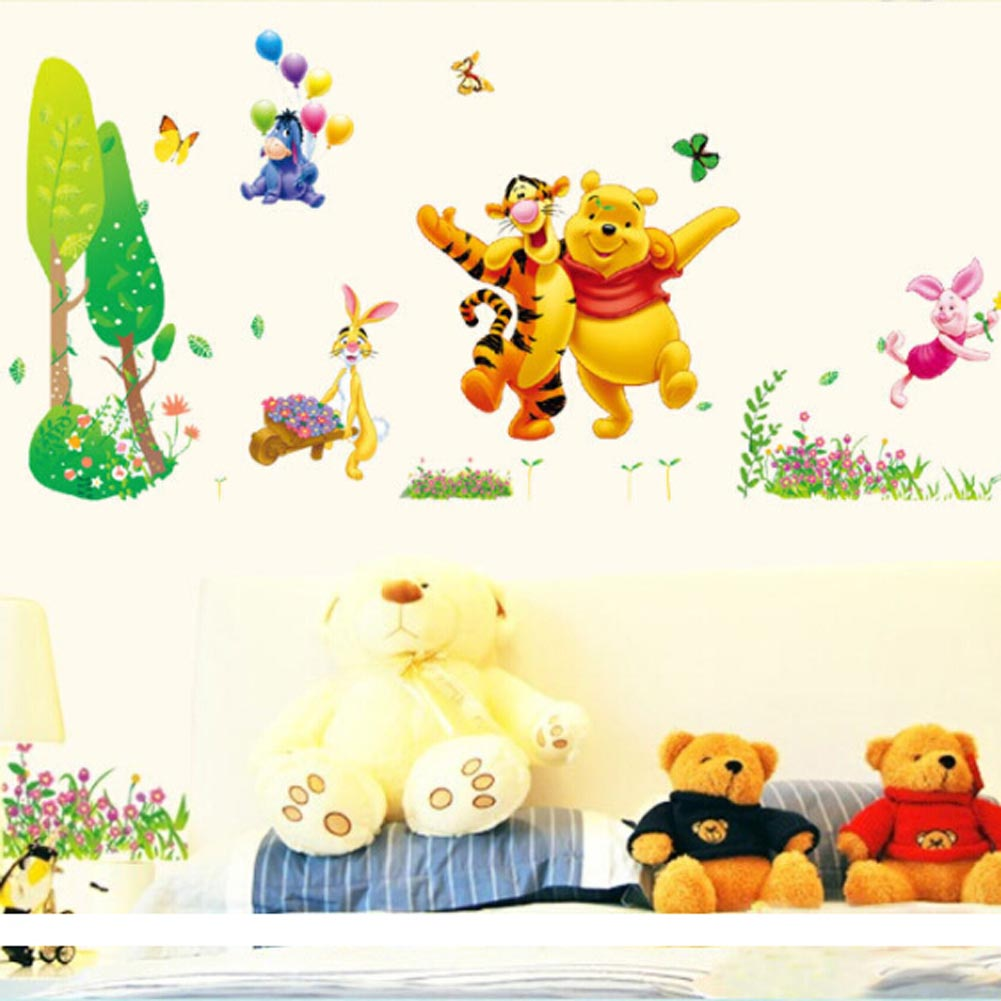Online Shop New Arrival Winnie Pooh Bear Tigger Wall Stickers For ...