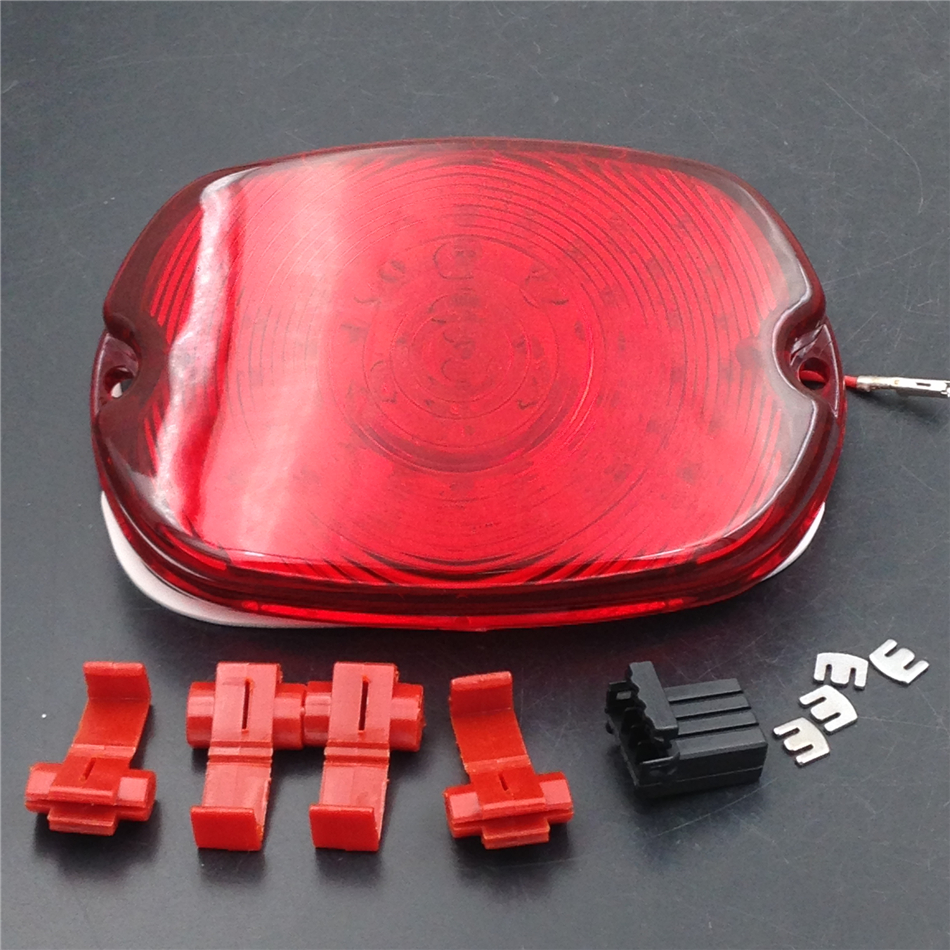 Aftermarket Motorcycle Parts LED Tail Light FOR Harley Davidson  Softail Sportster Road King Dyna Electra Glide Fat Boy RED ручка газа для мотоциклов other 1 25 z harley davidson sportster xl883 xl1200 dyna glide