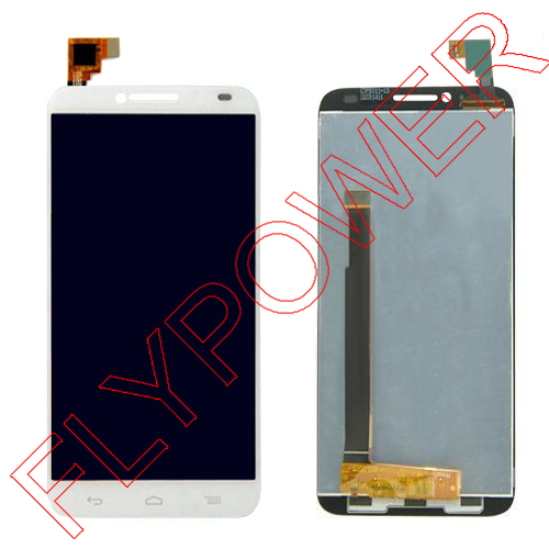 For Alcatel One Touch Idol 2 OT6037 6037 6037Y 6037B LCD Screen Display With White touch screen digitizer assembly free shipping