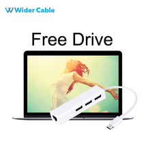 Kind C to Gigabit Ethernet LAN RJ45 three Ports USB 2.zero HUB Adapter Excessive Pace Information Switch Wired Community Card For Macbook Professional 2017
