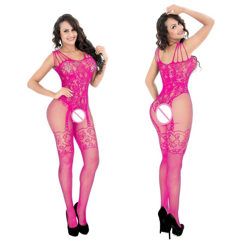 HTB1LmlZXOLrK1Rjy1zdq6ynnpXaA Body de lencería sexy, traje de cuerpo caliente, disfraces de porno sensual, malla de peluche abierta, lencería elástica, ropa interior