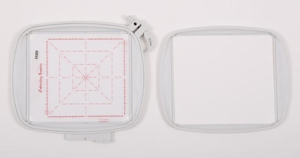 Tous Tissu Hoop II 150x150mm (6 ''X 6'') PFAFF Creative 2.0/4.0 Vision Sensation #820889096/920115096 (PA889)