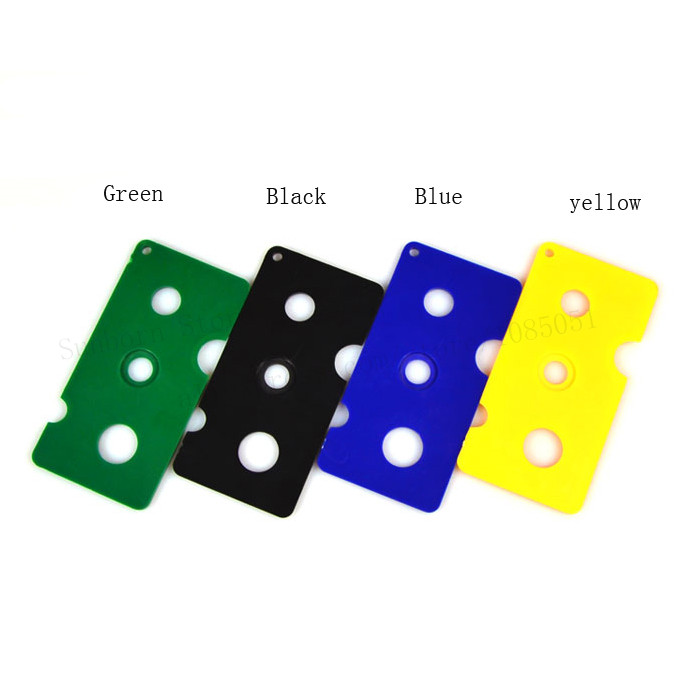 10 lot Multi function Green Black Blue Yellow Stoppers Opener Key Tool Simple Remover For Roller Balls and Caps Bottles in Refillable Bottles from Beauty Health