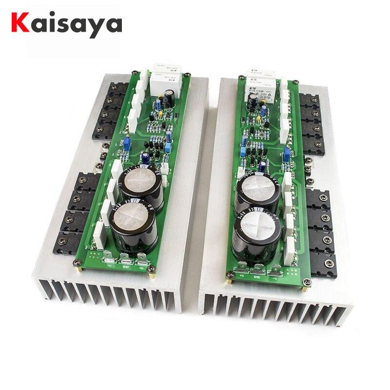 2 uds PR-800 clase B de etapa profesional amplificador tarjeta de audio para el hogar 1000W de alta potencia amplificador sin disipador de calor 2,0