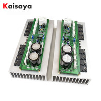 2pcs PR 800 Class A B Professional Stage Amplifier audio Board Household 1000W High Power Amplifier without heatsink 2.0