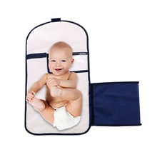 Newborn Baby Foldable Diaper Bag Waterproof Pad 0-12 Month Infant Sleeping