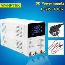 Wanptek GPS3010D SMPS 220V switching DC power supply  0.001A Four Digital DC Power Supply 0-30V 0-10A Laboratory power supply fast arrival qj3003siii dc power supply laboratory triple phases transformer 30v 3a resolution of 100mv 10ma
