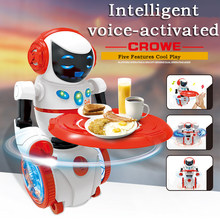 Intelligent Programming LED Light Dancing Humanoid Robot remote control Robot sing/dance balance robot electronic toys dog(China)