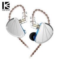 KBEAR KB10 5BA Balanced Armature in Ear Earphone Sport Earphone Bass DJ HIFI Headset KBEAR F1/opal ZSN /ZS10 PRO AS10