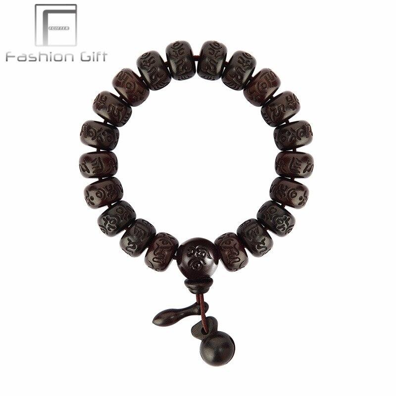 Perline Abbigliamento Accessori Uomo Buddha Legno Di Uomini E Bracciale Nk8n0wOXP