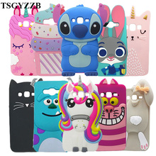 For Samsung J2 Prime Case Cover 3D Cute Cartoon Soft Silicone Phone Cases For Samsung Galaxy J2 Prime Funda G532F G532 SM-G532F защитное стекло для samsung galaxy j2 prime sm g532f gecko на весь экран с белой рамкой