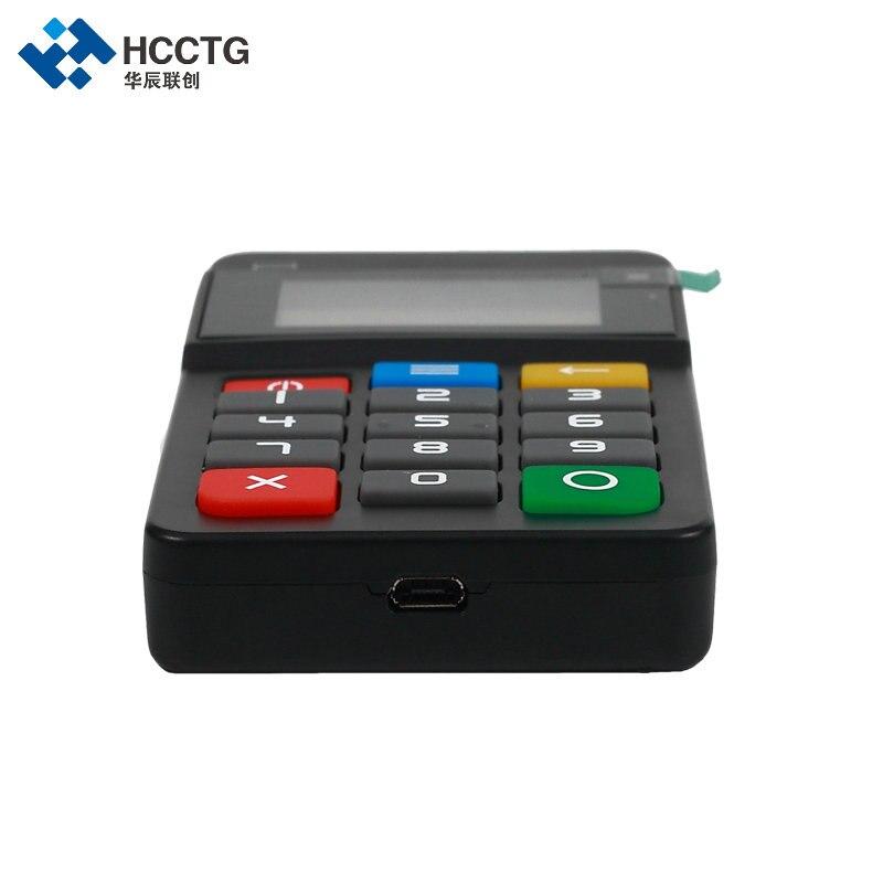 MPOS terminal de paiement Mobile lecteur de carte magnétique NFC & IC lecteur de carte à puce avec clavier-HTY711 - 6