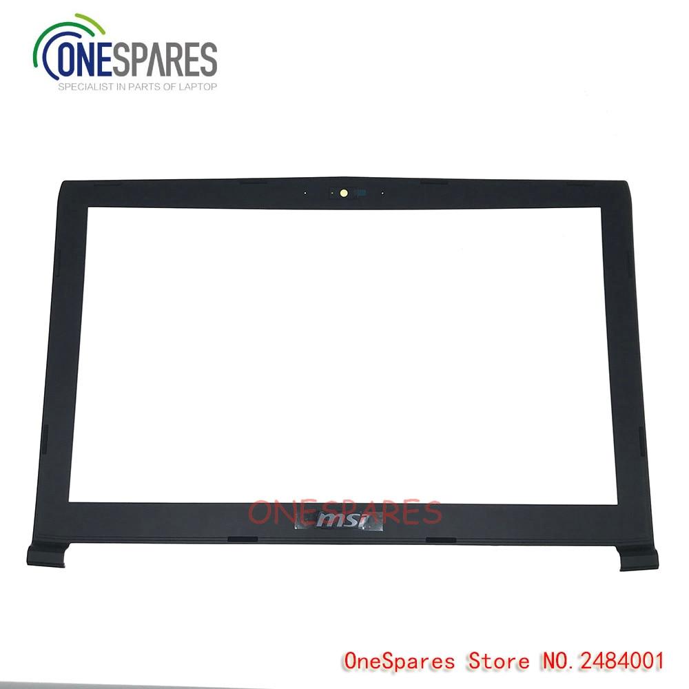 Nouveau couvercle d'ordinateur portable LCD pour MSI GP62MVR GP62 6QG GL62 6QF MS-16J5 couvercle de lunette B Shell