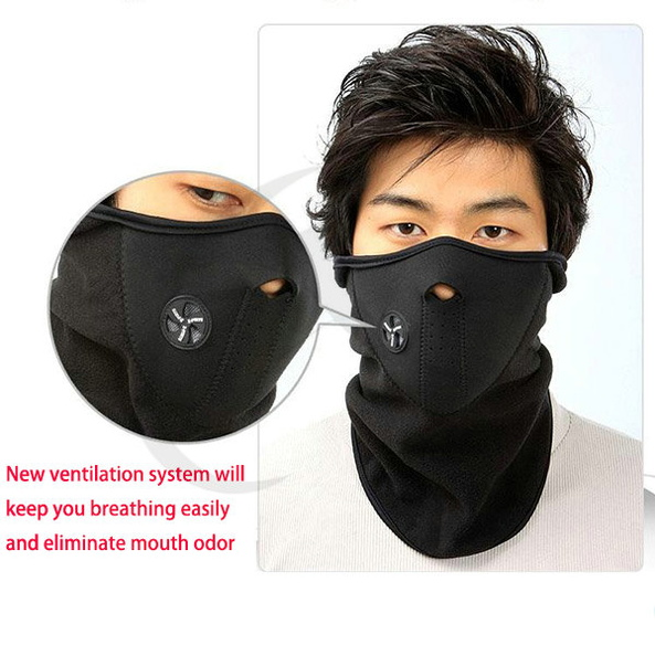 New Neoprene Winter Warm Neck Face Mask For Motorcycle Cycling Sport Ski Biker