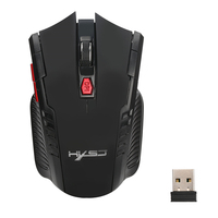 Wireless Optical Mouse Ergonomic 2 4G Computer 3 Buttons Game Gaming Mouse Mice For PC Laptop