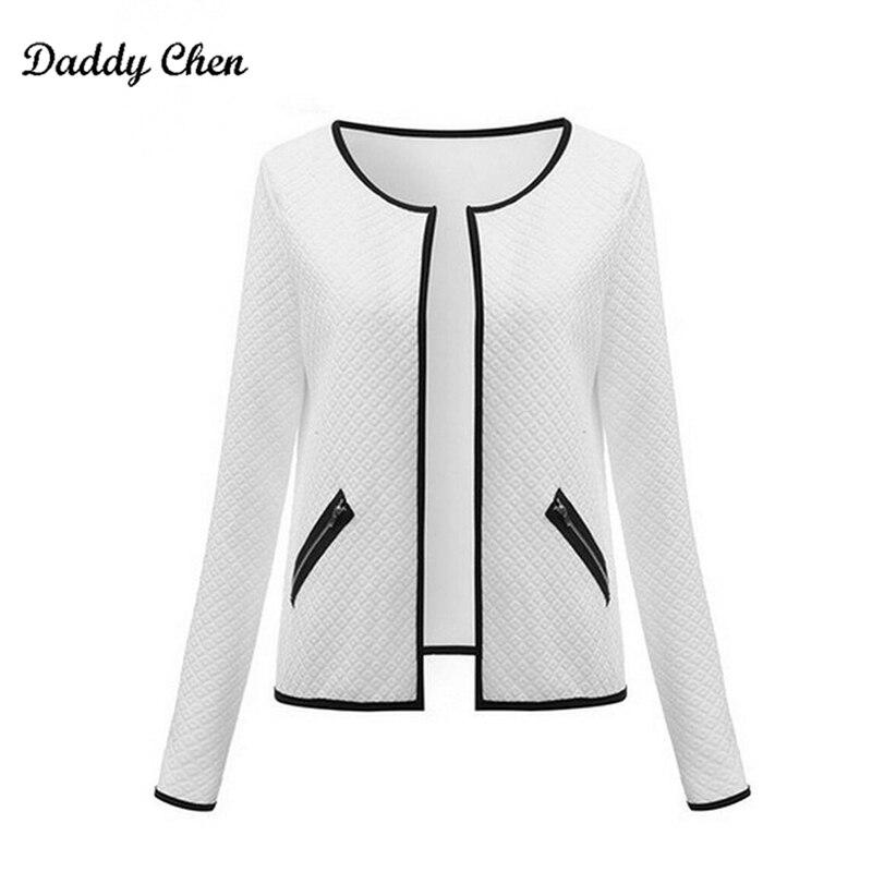 2017 Autumn Fashion bomber   Basic     jacket   Cardigan women female coat long sleeve Short Streetwear   jackets   outwear slim plus size