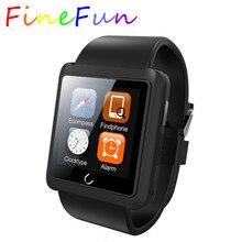 FineFunสมาร์ทนาฬิกาU10 U10Lใหม่ล่าสุดUนาฬิกาต่อต้านหายไป1.54นิ้วบลูทูธนาฬิกากันน้ำสำหรับIOS A Ndroidมาร์ทโฟนนาฬิกาข้อมือ