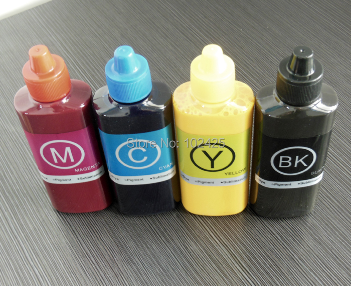 4x100ML Sublimation Ink For Ricoh GC41 Ink for Ricoh SG2100N SG3100 SG3100SNW SG3110DNW SG3110DN SG3110SFNW