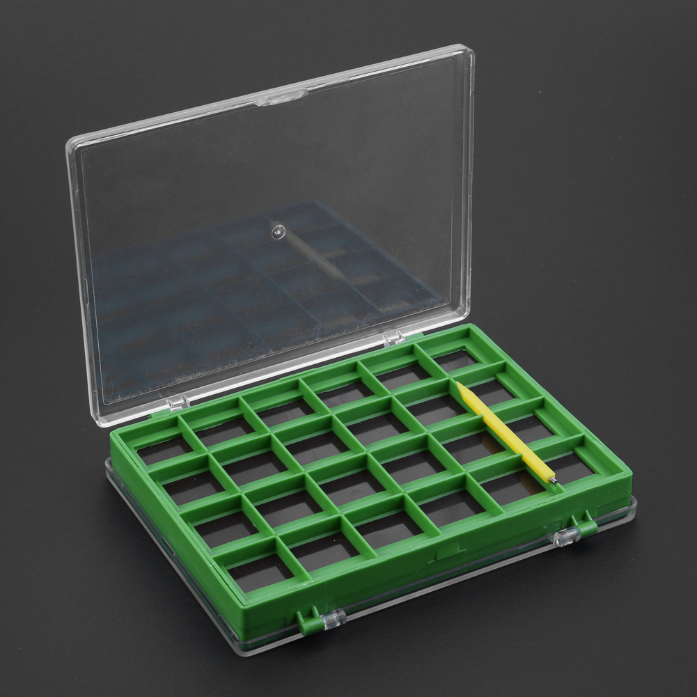 Eco-Friendly PP + ABS Fishing Lure /Hook Storage Case Double-sided Fishing Bait Lure Box Case Container Fishing Tackle Box