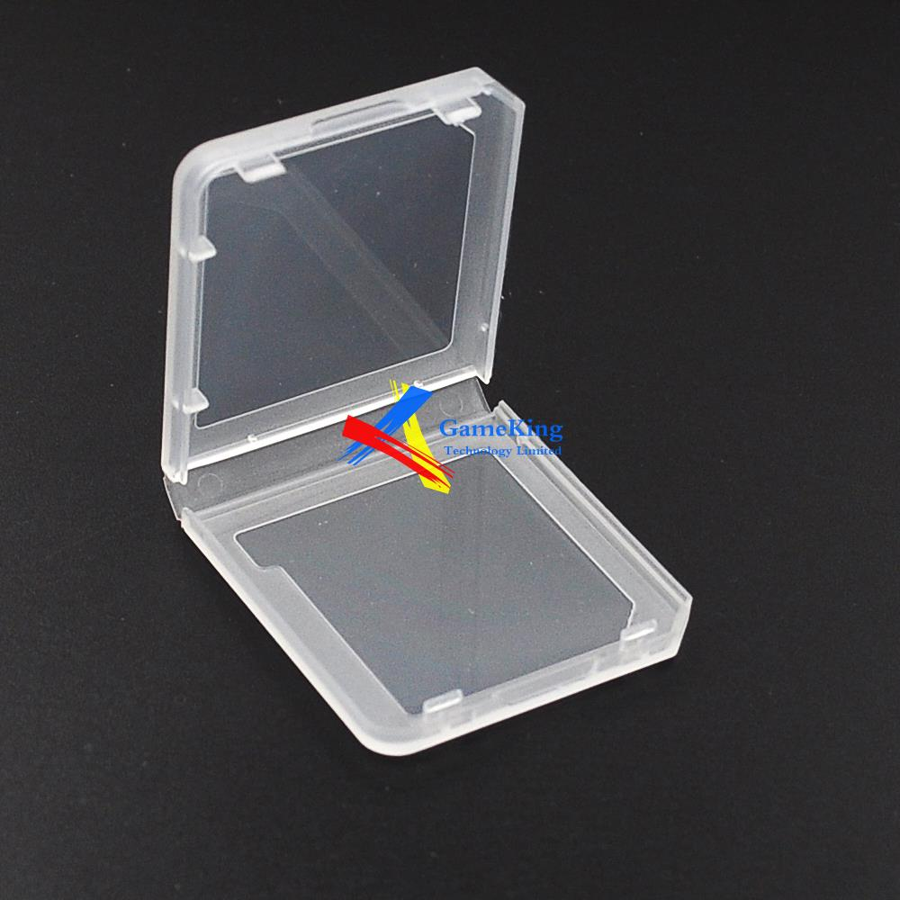 Clear box card case for Nintendo 3DS 3DSLL DS game card