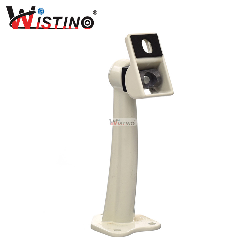 Wistino CCTV 1pcs Metal Camera Bracket Stand Stent Holder Security Support Cam Brace Ceiling Install Accessories Brake Cameras allen roth brinkley handsome oil rubbed bronze metal toothbrush holder