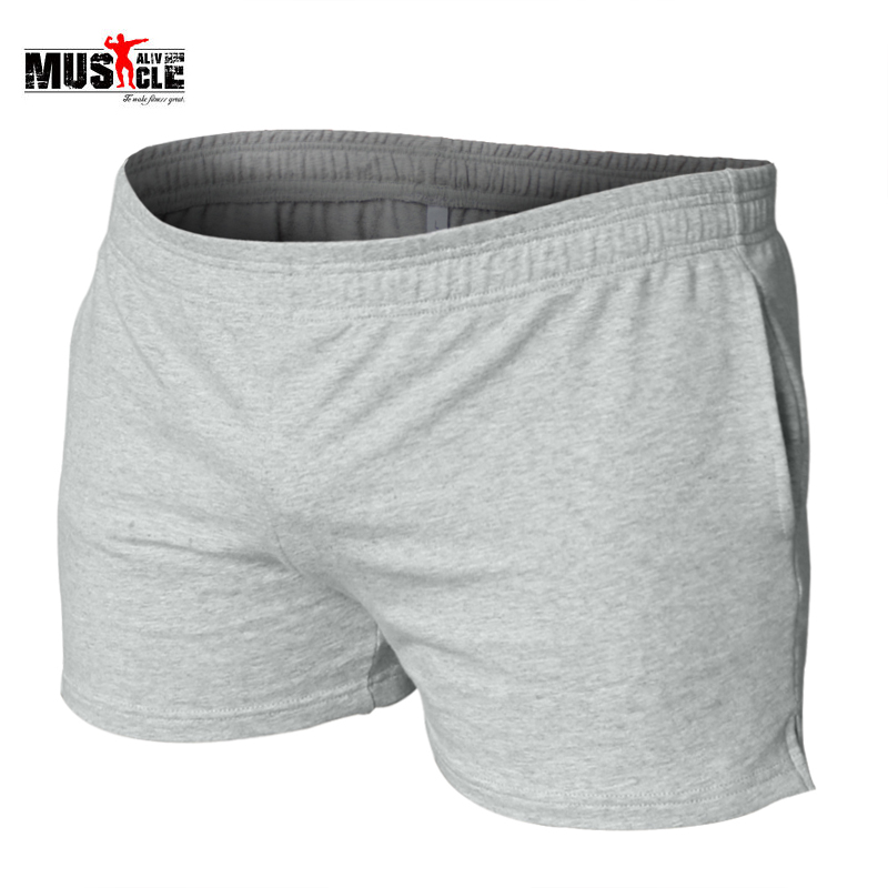 Muscle Shorts Men Bodybuilding Casual Short Gyms Clothes Casual Cotton Pocket Solid Workout For Male Bermuda Masculina De Marca