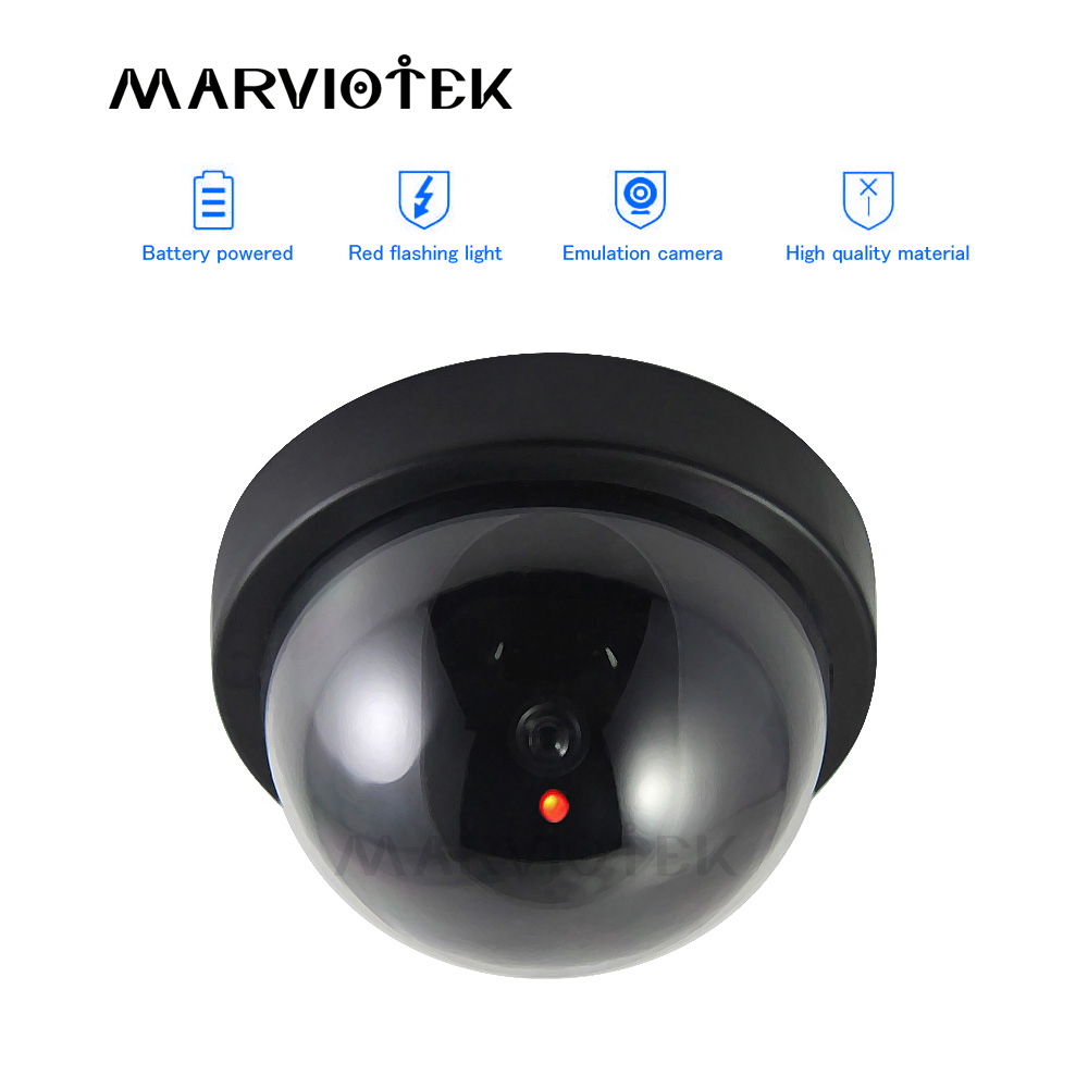 Dummy kamera Innen Gefälschte IP Kamera wifi Dome home security video Überwachung cctv videcam Mini Kamera mit Blinkende LED Licht