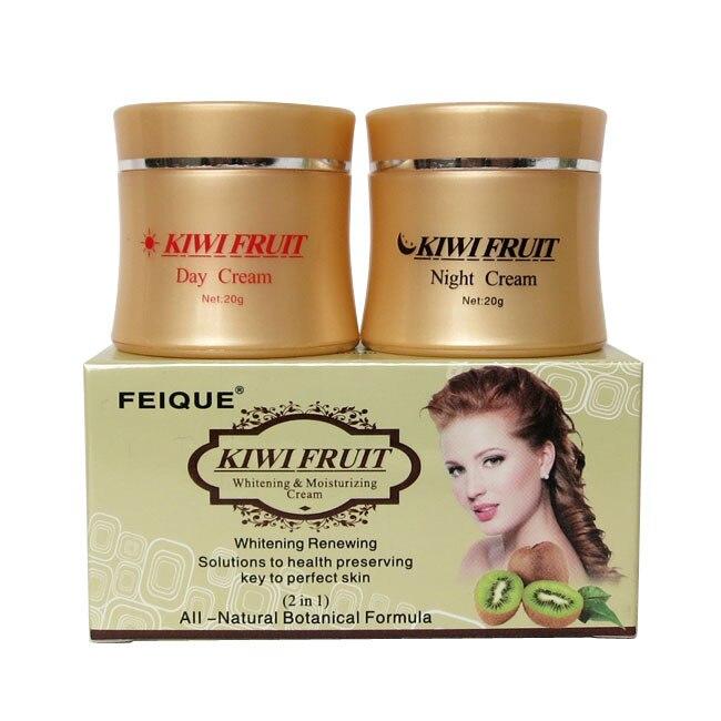kiwi fruit whitening renewing solutions to health preserving natural botanical formula day cream+ningt cream