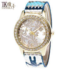 New color Set auger ladies watch Pu leather Strap Digital hour hand display Luxury dress quartz watch woman relogios feminino