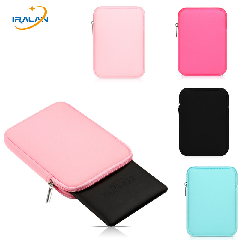 Fashion soft Tablet Liner Sleeve Pouch zipper Bag for Apple iPad air 1/ipad 5 ipad pro 9.7 inch Cover for New ipad 9.7 2017+pen