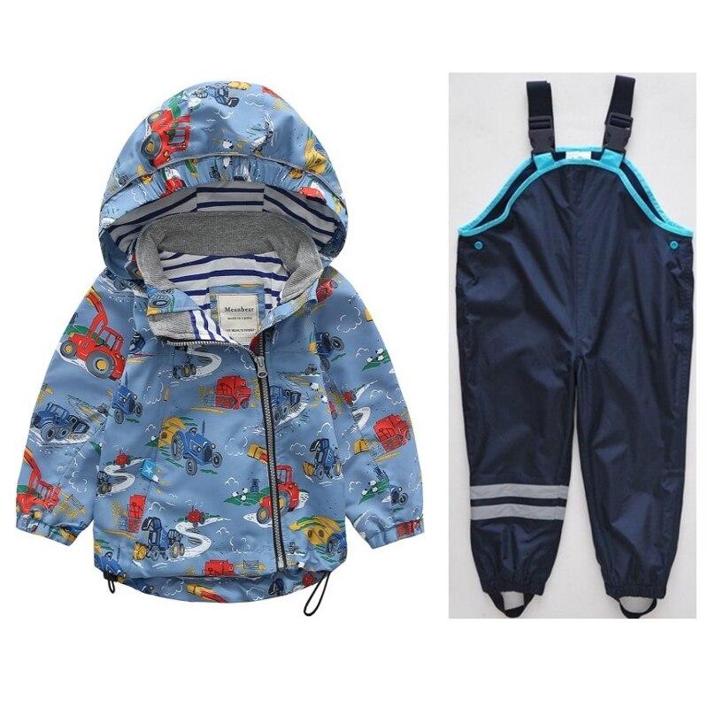 Children s Jackets Coat Spring and Autumn Baby Windbreaker Korean Edition Pants