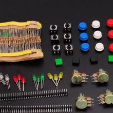 Component Kit (carbon film Resistor+LED+WTH148 Potentiometer