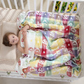 Муслиновые одеяла для новорожденных детей, 6 слоев, марлевые, хлопковые, мягкие, противоскользящие, одеяло для новорожденных, Пеленальное по...