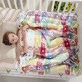 Musselin Baby Decken Kinder 6 schichten Gaze Baumwolle Weiche Anti Kick Quilt Neugeborenen Swaddle Handtuch Kinder Bad Handtuch 110*110 cm