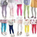 Retail 1-8years leggings pants candy color Modal thin cotton children Kids infant Baby for spring autumn fall summer