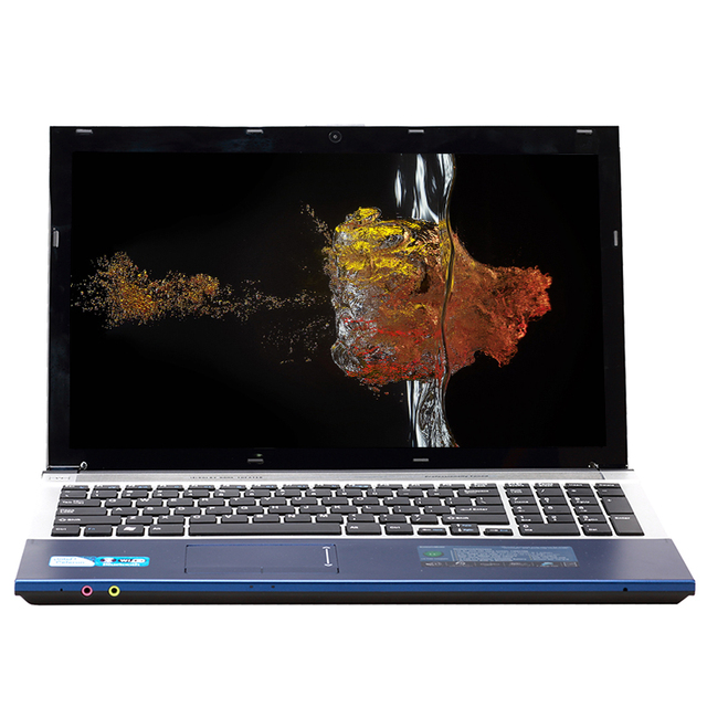 15.6inch Intel Core i7 CPU 8GB RAM+240GB SSD+750GB HDD Built-in WIFI Bluetooth DVD-ROM Windows 7/10 Laptop Notebook Computer
