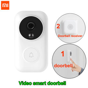 Xiaomi Doorbell-Set Push-Intercom Ai-Face Identification Motion-Detection Video Free-Cloud-Storage