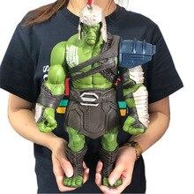18/35cm büyük boy Avengers Marvel Thor 3 Ragnarok eller hareketli savaş çekiç savaş baltası gladyatör Hulk BJD eylem şekilli kalıp oyuncak