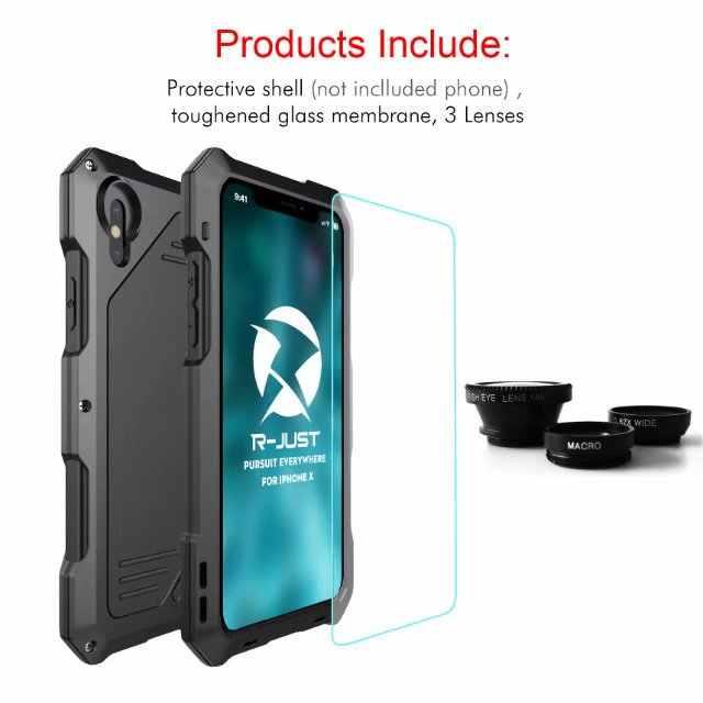 """Ударопрочный чехол для повседневной защиты от воды чехол для iPhone X кожаный чехол для мобильного телефона объектив камеры """"рыбий глаз"""" чехол для телефона чехол для iPhone X 5 5S SE, 6, 7, 8, 6 S плюс 10"""