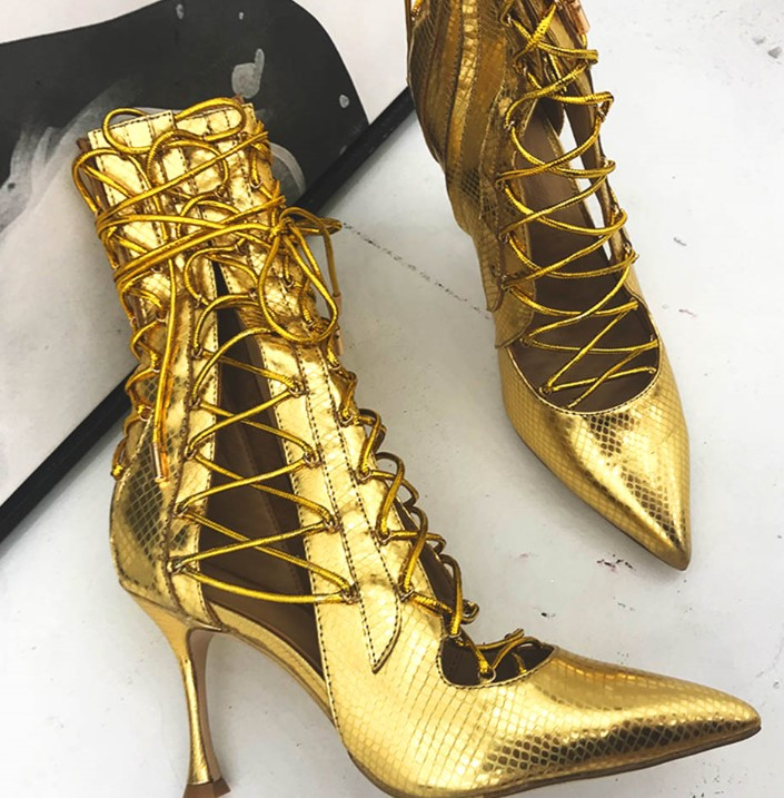 designer 8 cm high heels gladiator sandals shoes woman party wedding stiletto lace up sheep skin cut out summer boots roho ethnic suede fringe gladiator sandals women ankle boots lace up high heels shoes woman cut out summer boots botas mujer