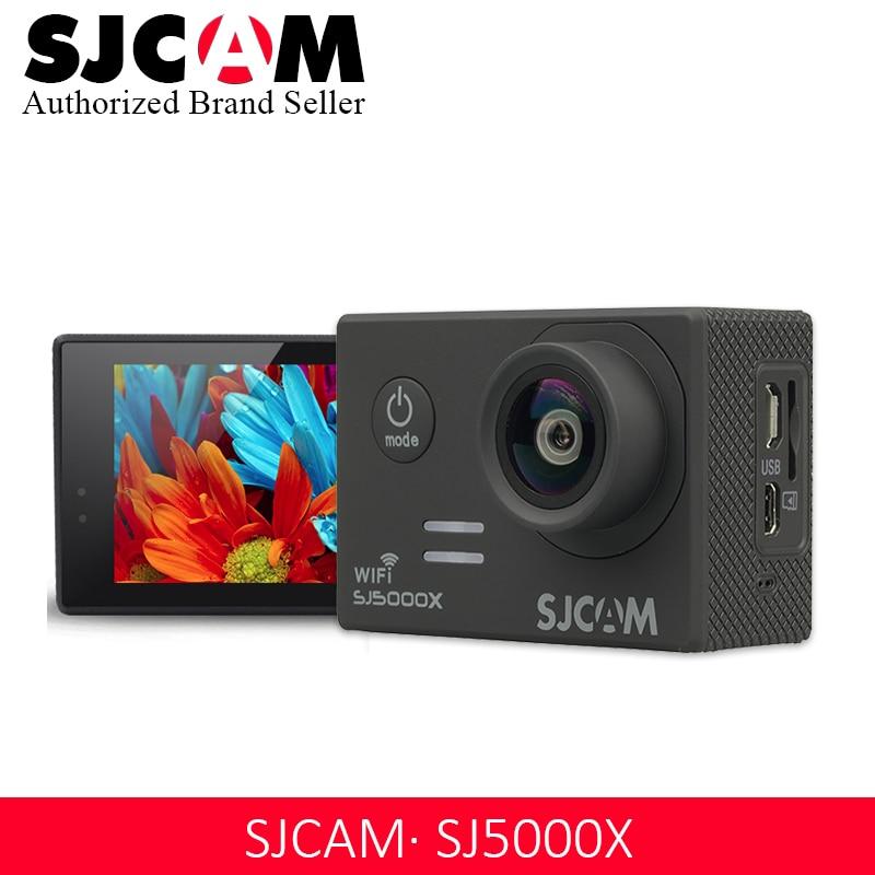 Оригинальная Экшн камера SJCAM SJ5000 серии SJCAM SJ5000X Elite WiFi 4K 24fps 2K30fps Notavek 96660 sport DV Водонепроницаемая