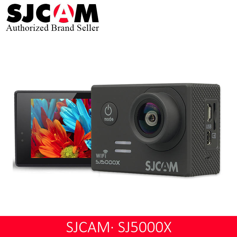 SJCAM SJ5000 série caméra d'action SJCAM SJ5000X Elite WiFi 4 K 24fps 2K30fps Notavek 96660 sport DV étanche