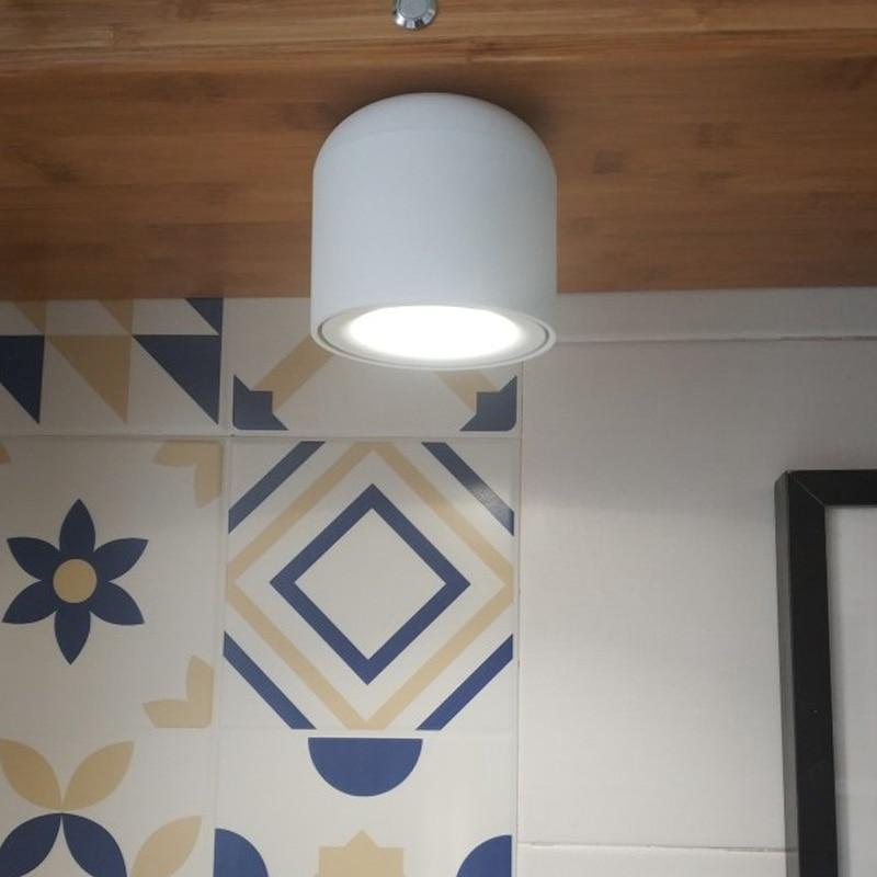 Spot plafond lampe de vie cuisine nordique lampe salle de bain montage en Surface plafonnier monté en surface lampe de fond spot - 6