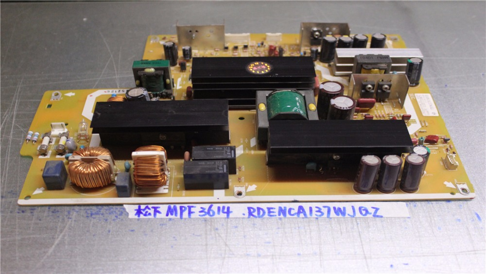 MPF3614 PCPF0091-1 RDENCA137WJQZ power supply is used 137 power