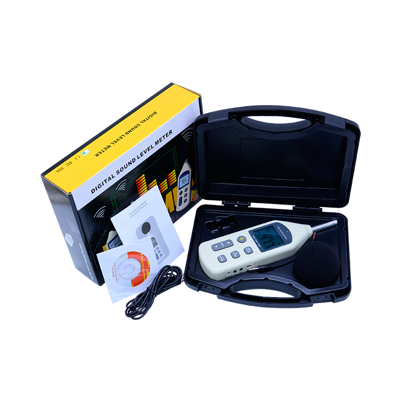 BENETECH Digital Sound Level Meter USB Noise Tester meter GM1356 30-130dB A/C FAST/SLOW dB+ Software WITHOUT BOX gm1357 with carry box 30 130db digital sound level meter noise tester in decibels lcd a c fast slow db screen